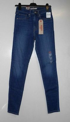 3f39d267 Levi's Mile High Super Skinny Jeans Lonesome Trail W27 L30 TD077 NN 03  #fashion #
