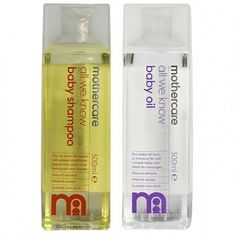 Mothercare Shampoo and Mothercare Oil Combo
