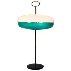 Unusual Table Lamp Attributed to Arredoluce | From a unique collection of antique and modern table lamps at http://www.1stdibs.com/furniture/lighting/table-lamps/