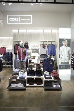 VM | Visual Merchandising | Retail Display | Retail Fashion Display | VM Fashion | Retail Design | Jack and Jones store by Riis Retail Kolding Denmark
