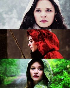 Snow, Red, and Belle. I LOVE this show