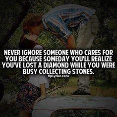 Never Ignore Someone