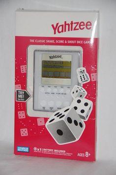 Yahtzee Electronic Handheld Game 2007 Parker Brothers  NIP #Hasbro