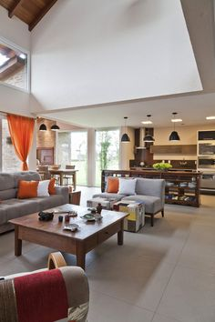 Brick-Defined Contemporary Residence in Brazil: Casa CKN Duplex Design, House Design, Brazil Houses, Common Area, Decor Interior Design, Interior Architecture, Small Spaces, Beautiful Homes, Living Spaces