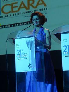 Mestre de Cerimônias no 21º Festival Iberoamericano de Cinema - Cine Ceará