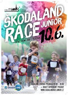 Akce v Plzni pro děti - běžecký závod - Škodaland Race Junior Plzeň 2019 Smart Tv, Racing, Baseball Cards, Marketing, Youtube, Sports, Auto Racing, Sport, Lace
