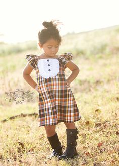 Autumn+Spice+Girls+Dress+26yrs+by+outtahand+on+Etsy,+$34.00