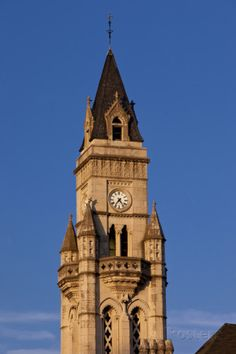 Customs House Clock Tower in Nashville, Tennessee. I miss seeing this everyday :(
