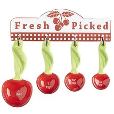 Hanging Cherry Measuring Spoons   Pier 1 Imports