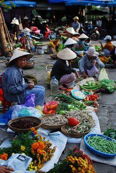 Market in Hoi An, Vietnam