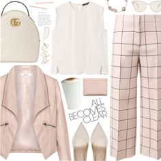 all becomes clear by valentino-lover on Polyvore featuring MANGO, Zizzi, Valentino, Sergio Rossi, Gucci, Kimberly McDonald, Topshop, Oliver Peoples, Acne Studios and By Terry