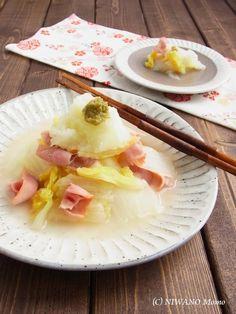 白菜とベーコンの柚子こしょう蒸し by 庭乃桃 | レシピサイト「Nadia ...