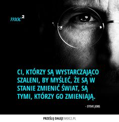 #cytaty #motywacja #insipracja #quotes #motivation #inspiration #SteveJobs #apple Swimming Motivation, Life Motivation, Motivational Words, Inspirational Quotes, Yoga Progress, Motto, Word Sentences, Change Quotes, Motivation Inspiration