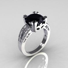 This is so perfect! If I ever get engaged someone please pass this along to my man ;) I loveeeee black diamonds!!