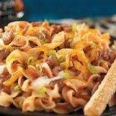 Offered as part of my Ground Beef Favorites Collection from First Ladies.  This is purported to be the favorite dish of Mrs. George C. Wallace, Governor Of Alabama  Photo by Taste of Home I found these recipes in an old cookbook which has no name or any  identifying labels.