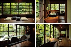 Cafe in Hamamatsu, Japan Japanese Homes, Japanese Interior, Japanese Architecture, Interior Architecture, Tatami Room, Hamamatsu, Design Process, Architects, Pallet