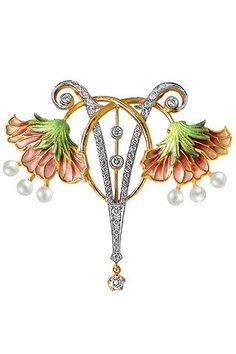 art nouveau jewelry | Art nouveau | Jewelry