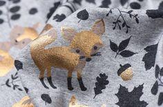 Nooteboom Textiles Vosjes Metallic Tricot
