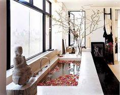 Kourtney Kardashian - Beautiful Bathrooms!