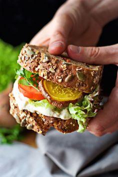 Golden Beet Sandwich