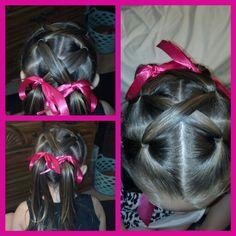 Little girl hair dos