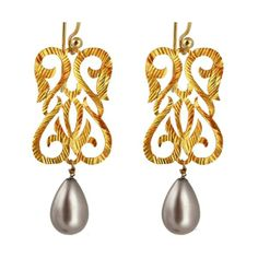 Signature Byzantine Swan Earrings | Eina Ahluwalia