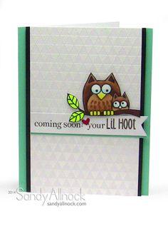 Sandy Allnock LilHoot Shower card