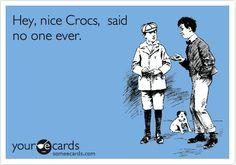 Crocs ecard