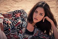 Heiß ist nicht nur die Wüste: Heiß sind vor allem die Topmodels. Hier gibt's die tollen Shootingbilder vom Wüstenshoot aus Germany's next Topmodel, Folge 2.