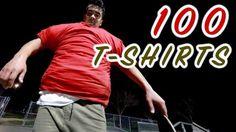 100 LAYERS OF T-SHIRTS SKATEBOARDING – Chris Chann: Source: christopherchann