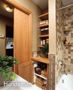 A Small Bathroom That Feels Big