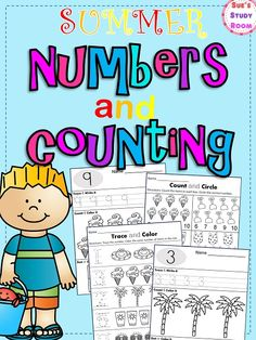 Summer Numbers and Counting for PreK and K