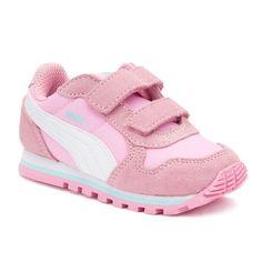 PUMA ST Runner NL Preschool Girls' Sneakers, Girl's, Size: 2, Pink Other