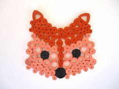 Fox Coaster, Animal Coaster, Paper Accessories , Home Decor, Coffee - Tea…