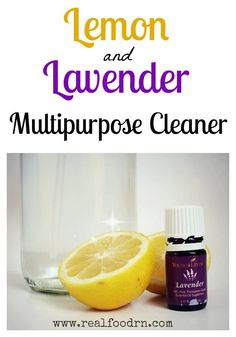 I am absolutely loving essential oils, and I am especially loving using them in my homemade cleaning products! What could be better than adding a little la