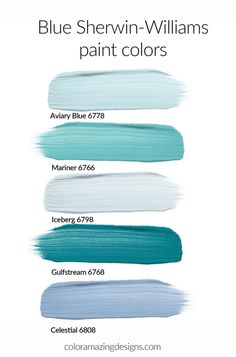 Light Blue Paint Colors, Beach Paint Colors, Light Blue Paints, Teal Paint, Blue Colour Palette, Paint Colors For Home, House Colors, Blue Paint For Bedroom, Paint Colors For Kitchens