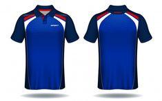 Polo Blue, Sport T Shirt, Polo Shirt, Polo Design, Shirt Template, Uniform Design, Camisa Polo, Purple And Black, Chemises
