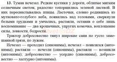 ГДЗ 13 - ответы на русский язык 7 класс. Баранов