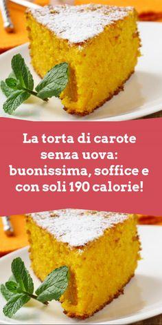 Eggless Recipes, Vegan Recipes, Sweets Recipes, Cake Recipes, Tortillas Veganas, My Favorite Food, Favorite Recipes, Different Cakes, Italian Desserts