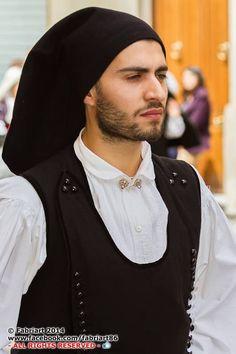 Sardinia - Italy. Costume sardo maschile