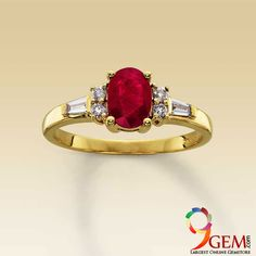 Ruby is the symbol of love and it is the perfect gemstone for any occasion