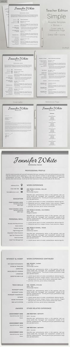 Professional Resume Template William Resume, Resume templates - simple resumes templates