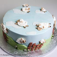 On a cake? We love ewe. Lamb Cupcakes, Cupcake Cakes, Eid Sweets, Eid Cake, Sheep Cake, Lamb Cake, Spring Cake, Fancy Cakes, Pretty Cakes