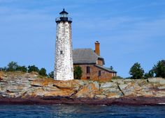 Isle Royale (Menagerie Island) Lighthouse, Michigan at Lighthousefriends.com