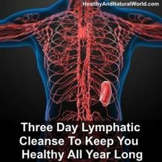 Three Day Lymphatic Cleanse To Keep You Healthy All Year Long - Health Detox Colon Cleanse Detox, Natural Colon Cleanse, Cleanse Diet, Natural Detox, Stomach Cleanse, Natural Health, Detox Diet Drinks, Detox Diet Plan, One Week Detox Diet