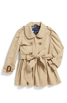 Ralph Lauren Trench Coat. The kind of gift that aunts and godmothers can give. :)