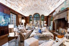 Bjorn Bjornsson paneled sitting room - Holiday House NYC 2015
