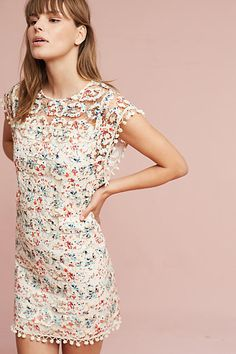 Gorgeous dress for summer. Or pair with tights for fall.