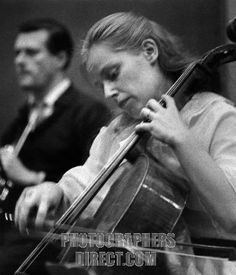 Jacqueline du Pré playing the cello on 13 December 1967 . English cellist recording Haydn s Cello Concerto in D in Abbey Road Recording Stud...