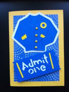 Celebrating High School handmade card.